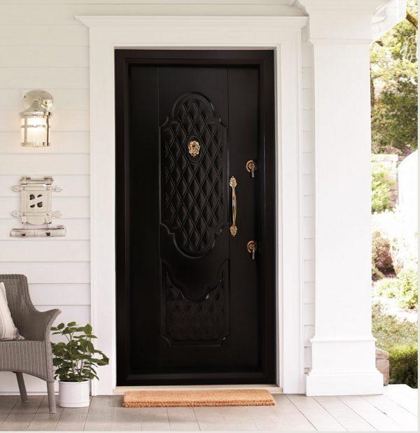 درب ضد سرقت A401 در حالت نصب شده