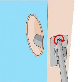 جایگزین کردن و نصب چرخ لنگر قفل جدید