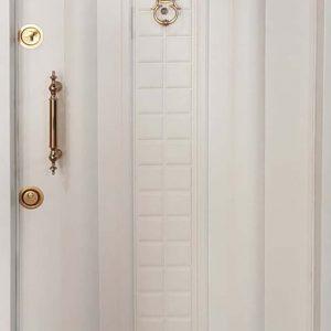 درب ضد سرقت سفید مدل ونوس